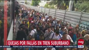 Se Normaliza Servicio Tren Suburbano Redes Sociales Una Falla Mecánica