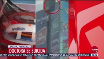 Se suicida doctora en Xalapa, Veracruz