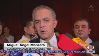 Senadores reaccionan a declaraciones de Madrazo elección