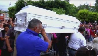 Sepultan Valeria Asesinada Melchor Ocampo Estado De México
