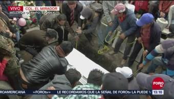 Sepultan a Valeria en panteón de Melchor Ocampo