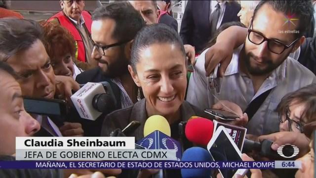 Sheinbaum dice que le pidieron 'mordida' en un verificentro
