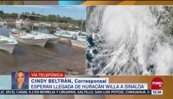 Sinaloa presenta marea alta ante la llegada del huracán 'Willa'