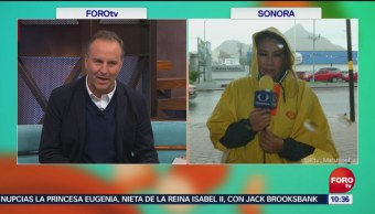 Sinaloa y Sonora, en alerta por aproximación de Sergio