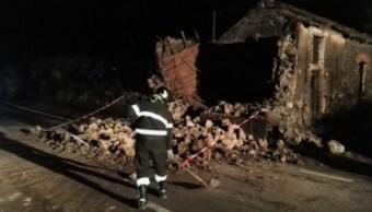 Sismo hoy en Sicilia, Italia, deja varios heridos