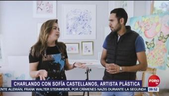 Sofía Castellanos, artista plástica mexicana