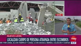 Suman 8 Muertos Derrumbe Construcción Nuevo León