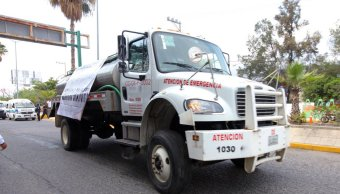 Suspenden reparto de agua en pipas en Acapulco