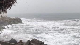 'Tara' se debilita a baja presión remanente; frente frío provocará tormentas