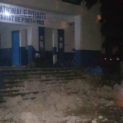 Sismo de magnitud 5.9 deja al menos 11 muertos en Haití