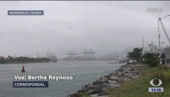 Tormenta tropical 'Tara', cerca de Colima