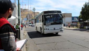 amiones del transporte público opera en mal estado en Hermosillo, Sonora