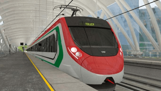 Interrumpen obras del Tren Interurbano México-Toluca
