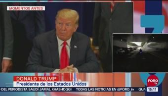Trump agradece a México que detenga a migrantes