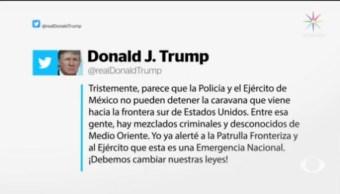 Trump Amenaza Países Detenido Caravana Migrante