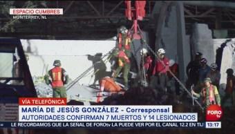 Un hombre permanece desaparecido por derrumbe en Monterrey