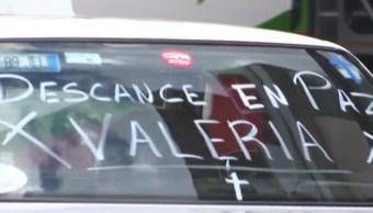Vecinos de Melchor Ocampo lloran la muerte de Valeria; padres exigen justicia