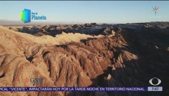 Valle de la Luna, santuario natural en el desierto de Atacama