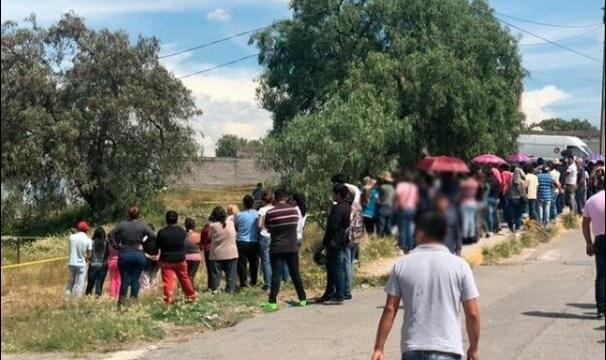 Vecinos de Melchor Ocampo lloran la muerte de Valeria