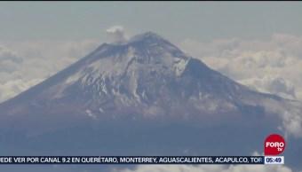 Vivir cerca del Volcán Popocatépetl