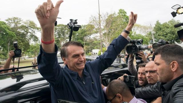 bolsonaro primera vuelta eleccion presidencial brasil
