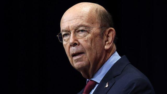 El secretario de Comercio de Estados Unidos, Wilbur Ross.