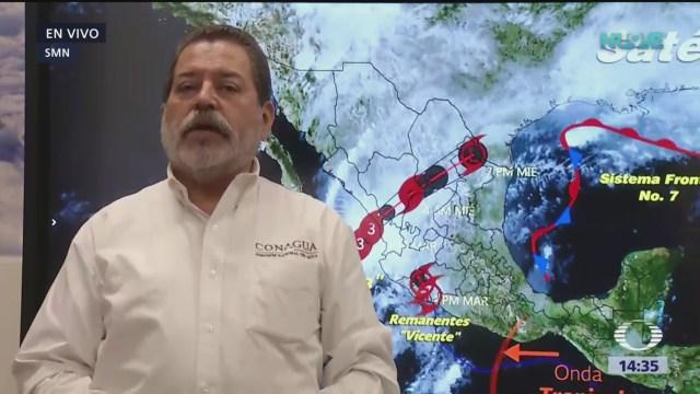 'Willa' se encuentra al sur de Mazatlán