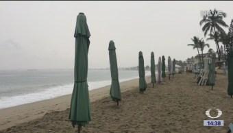 'Willa' y 'Vicente' provocan lluvias en Colima