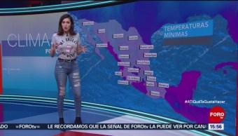 El Clima, A las Tres, Daniela Álvarez, [23-11-18], El Clima de 'A las Tres' con Daniela Álvarez [23-11-18]