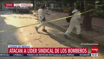 Servicios Periciales Recaban Pruebas De Ataque A Bomberos Ismael Figueroa, El Líder Del Sindicato Del Cuerpo De Bomberos