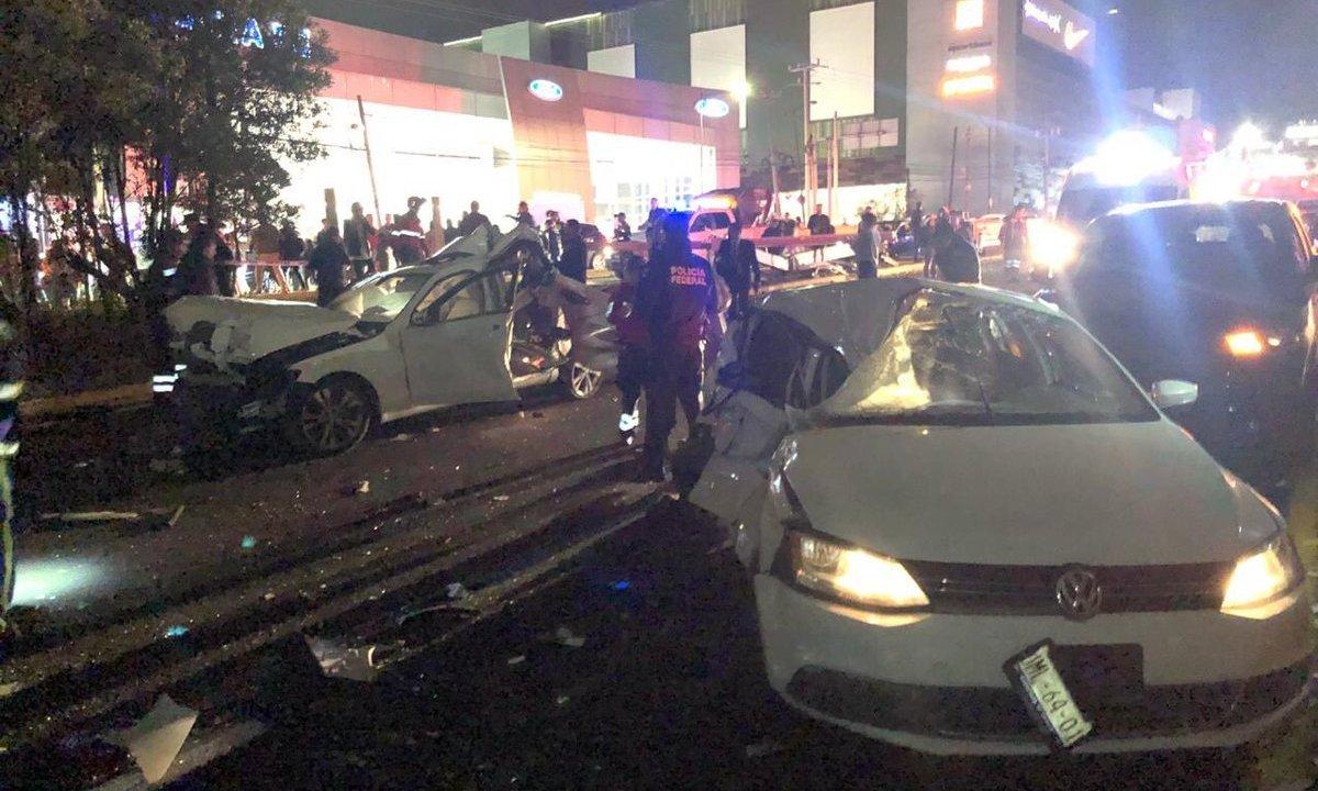 Lista de hospitalizados tras accidente en Santa Fe