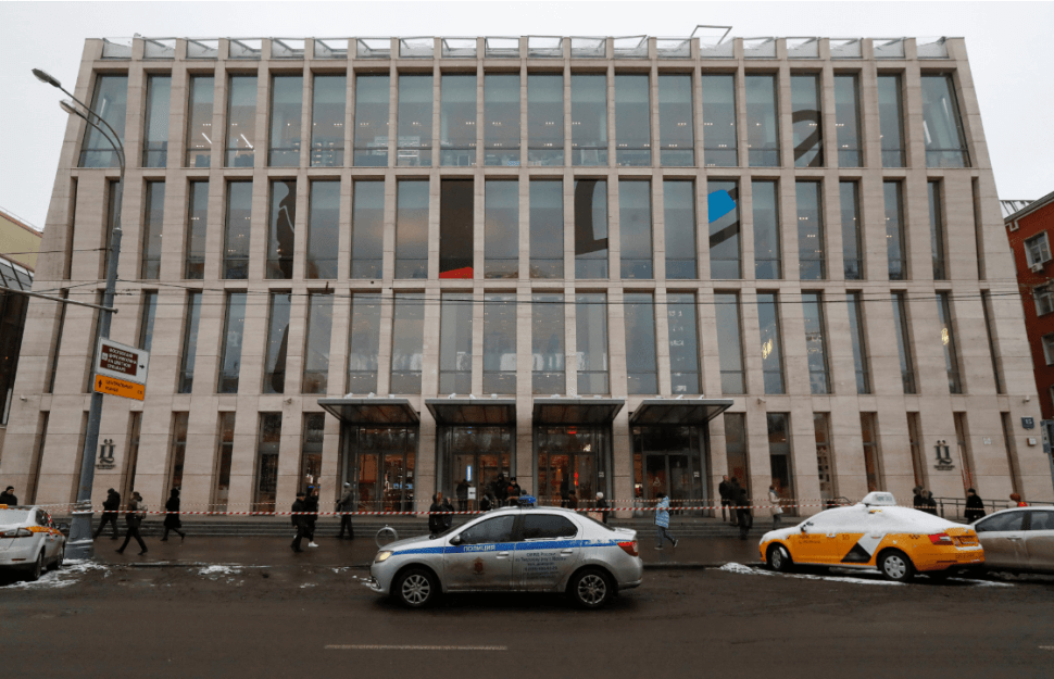 Alerta en centros comerciales de Moscú. (Reuters)