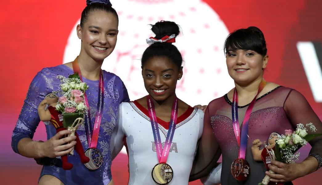 Alexa Moreno obtiene medalla de bronce en el Mundial de Gimnasia Artística