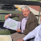 AMLO visita base militar de Santa Lucía