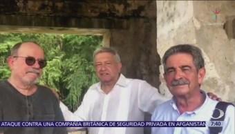 AMLO visita Palenque para cargarse de energía