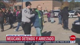 Arrestan Migrante Mexicano Refugiaba Iglesia Carolina Del Norte