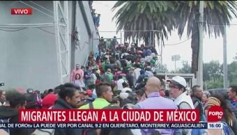 Arriban 500 Migrantes Más Albergue Habilitado Cdmx
