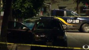 Asesinan a dos hombres en la CDMX