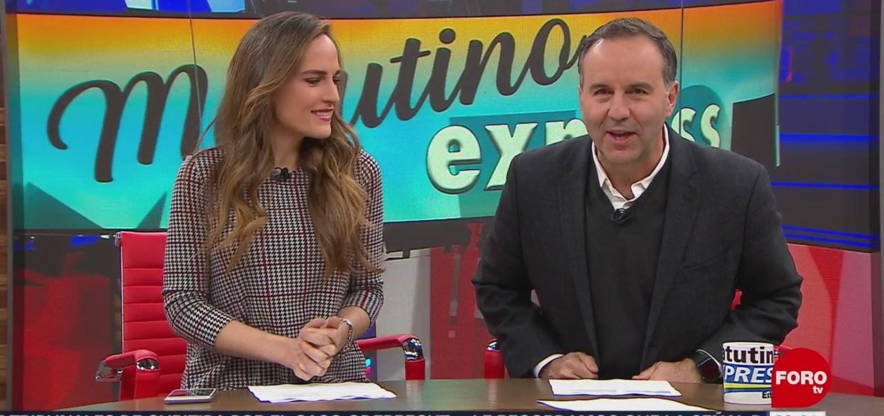 Así arranca Matutino Express con Esteban Arce del 14 de noviembre del 2018