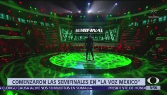 Así se vivió la noche de semifinal en La Voz México