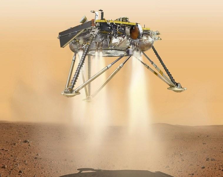 InSight, de la NASA, se posa en Marte