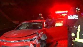 Automóviles deportivos se accidentan en el Valle de México