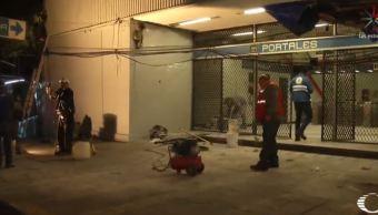 Automovilistas agreden con extintor a trabajadores del Metro