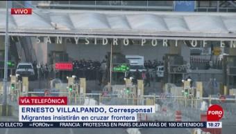 Autoridades de EU anuncian reapertura de paso peatonal en garita de San Ysidro