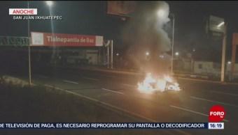 Autoridades investigan qué detono el problema la México-Pachuca
