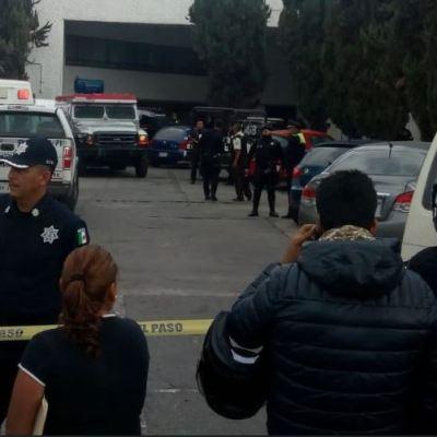 Asalto a camioneta de valores deja un muerto en Naucalpan, Edomex