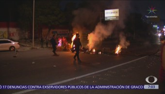 Bloqueo en la autopista México-Pachuca duró 20 horas