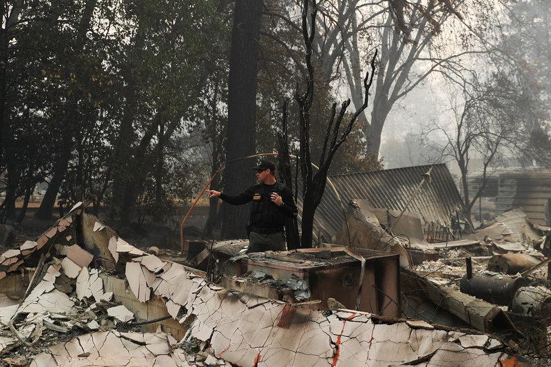 se eleva 23 cifra de muertos por incendios en california