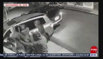 Captan Video Ataque Comerciante Nuevo León