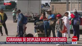 Caravana Migrante Desplaza Querétaro